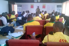 Creating awareness about torture to the law enforcement officers for KCCA